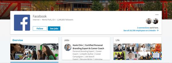 LinkedIn找工作